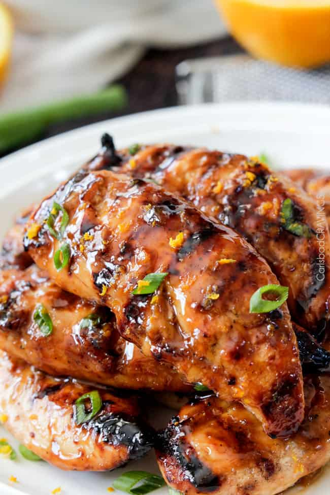 Honey Sriracha Orange Chicken